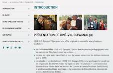 Ciné V O Espagnol 3 Réseau Canopé