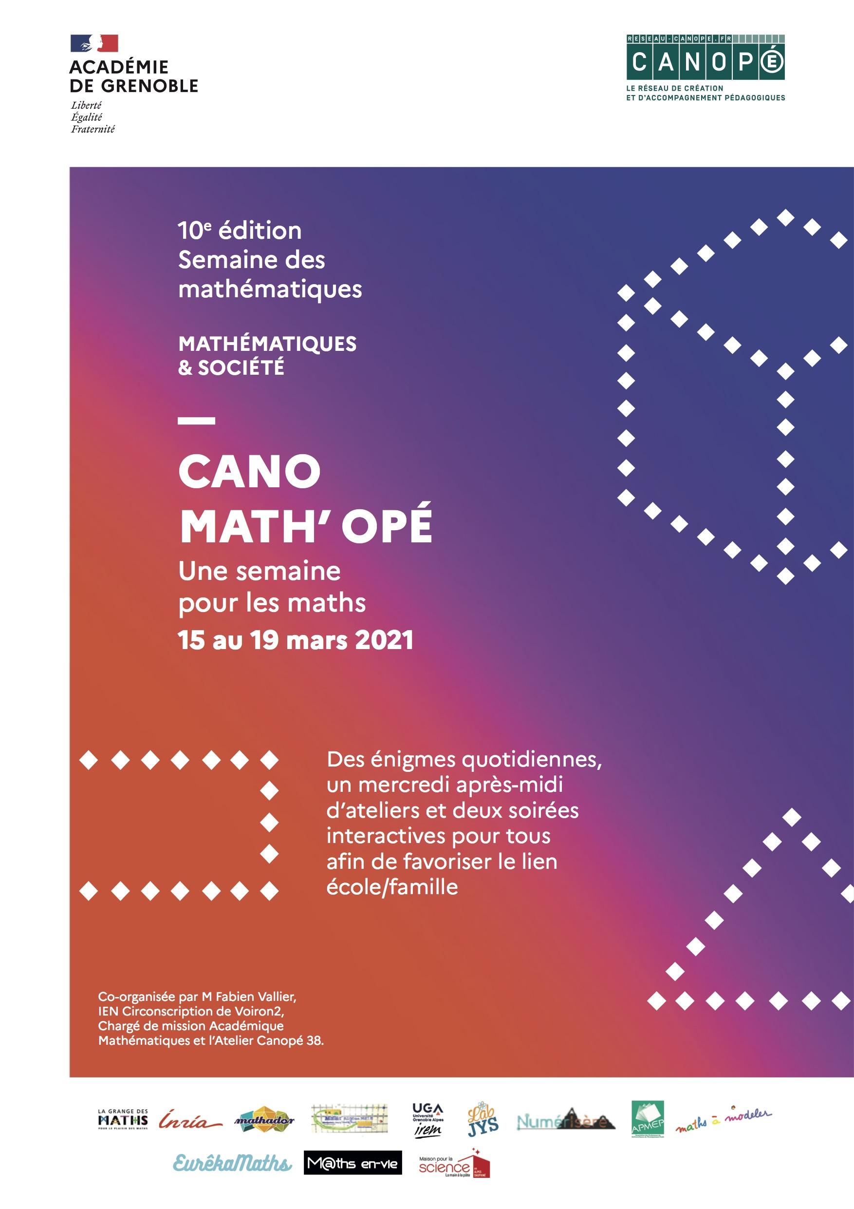 Canomath'opé